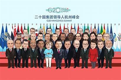 Xi Speech G20 Cartoon Voyage President China