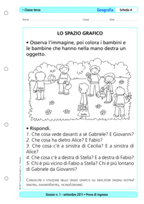 Prove Ingresso Prima Media Storia Prove D Ingresso Geografia Classe 3 La Vita Scolastica