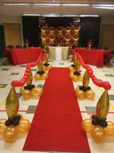 hollywood theme party balloons backdrops murales