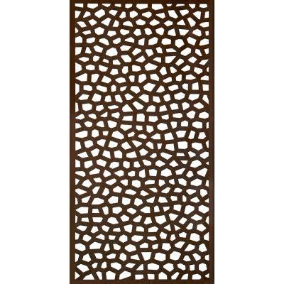 panneaux d 233 coratif 1x2m mosaic rouille