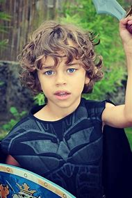 Hairstyles for Baby Boys with Curly Hair
