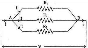 Current electricity for Law of combination of resistors in parallel electricity science help