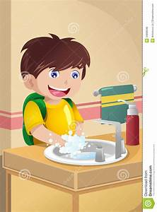 Child washing hands clipart - BBCpersian7 collections