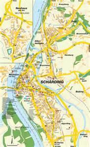 Scharding Austria Map