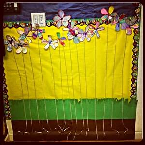 Anchor Growth Chart Preschool Class Flower Height Chart Kids Growth Chart