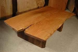 custom wood slab coffee tables dumond39s custom furniture With rustic wood slab coffee table