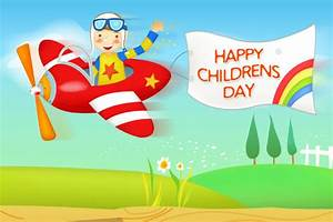 Happy Childrens Day Greeting Cards for Wishes -Download ...