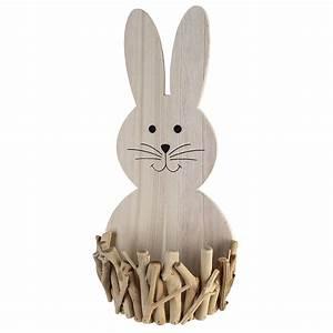 Deko Hase Holz : casablanca deko hase joy aus holz mit k rbchen h he 48 cm breite 22 cm tiefe 12 cm ~ Yasmunasinghe.com Haus und Dekorationen