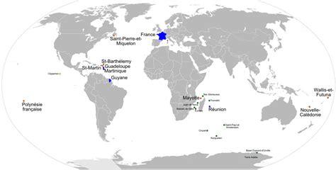 Carte Des Mers Dans Le Monde by Outre Mer Populationdata Net