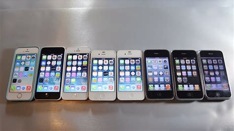 all iphones the ultimate iphone speed test on every iphone made