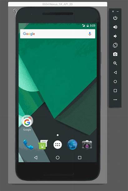 Android Studio Emulator Resize Developers Zooming Interface