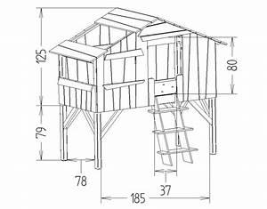 Dimensions Du Lit Enfant Cabane Mathy By Bols Chambre
