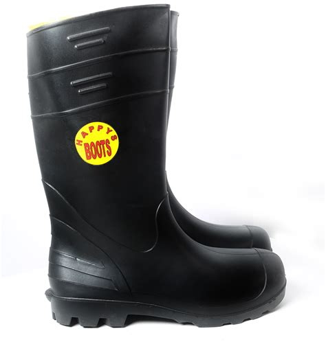 1055512  Happy  16″ Black Pvc Boots (mens)  213 2nd