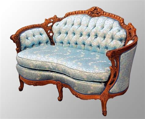 loveseats and settees best 25 antique ideas on antique sofa