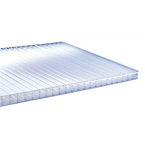 plaque polycarbonate alv 201 olaire 32mm coloris clair