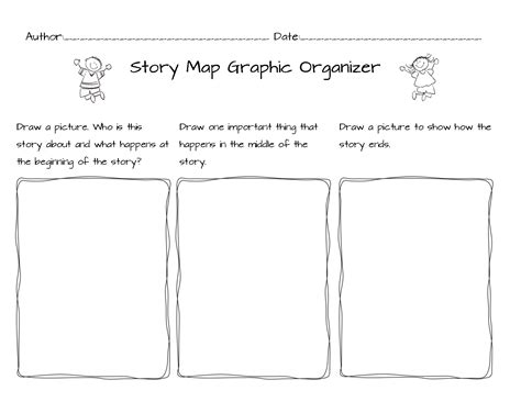 beginning middle end story worksheets kindergarten