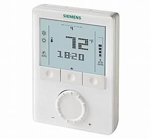 Siemens Rdg160tu Commercial Fan Coil Room Thermostat