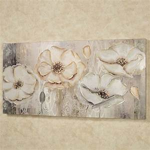 floral elegance canvas wall art With floral wall art
