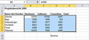Excel Tabelle Berechnen : soluzine excel summe 5 251012 ~ Themetempest.com Abrechnung