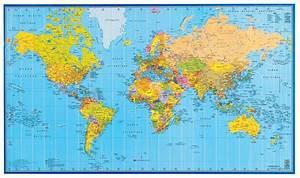 Carte Du Monde Metallique : carte du monde d taill e arts et voyages ~ Teatrodelosmanantiales.com Idées de Décoration