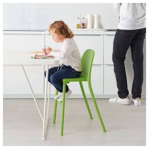 chaise junior junior chair green ikea