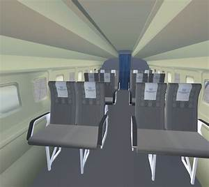 Fokker 60 Flight Deck And Passenger Compartment For Fsx