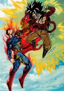The Retrospective Geek: DEATH BATTLE! - Goku vs. Superman