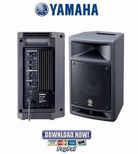 Yamaha Msr100   Sms100 Speaker Service Manual  U0026 Repair