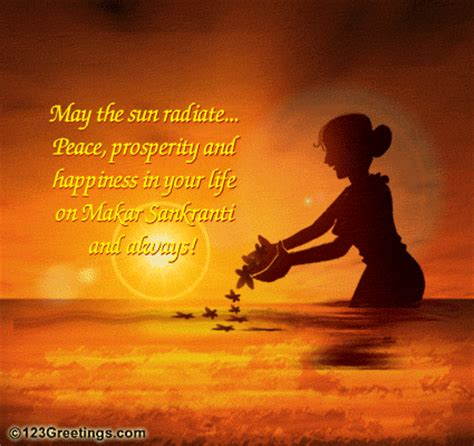 peace prosperity happiness makar sankranti ecards