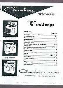 Chambers Stove Manual - Model C