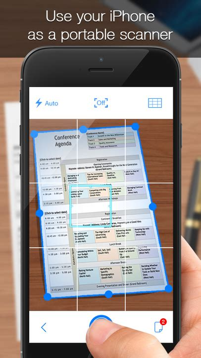 iscanner iphone evernote app center