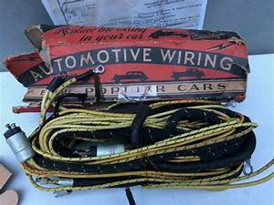 Details About Vintage 1933 1934 1935 1936 Chevrolet Wiring