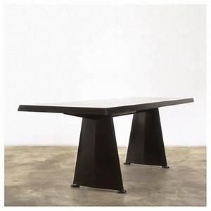 Table Jean Prouvé : vitra trap ze table by jean prouv vertigo home ~ Melissatoandfro.com Idées de Décoration