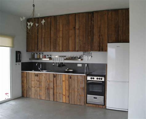 meuble bois cuisine meuble de cuisine en palette de bois mzaol com