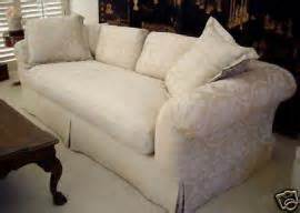 transport a vtg marge carson cream white 8 sofa couch