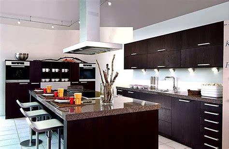 cocinas modernas  isla central colores en casa
