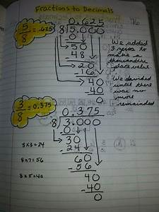 Fraction To Decimal Long Division