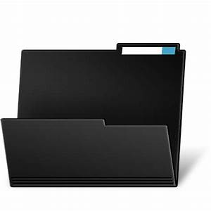 15 Cool Folder Icons Black Images - Cool Mac Folder Icons ...