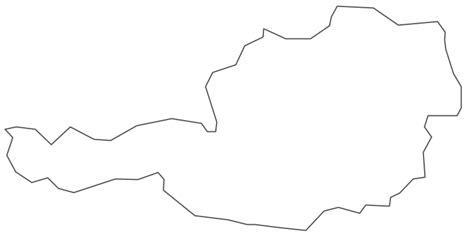 geo map europe austria