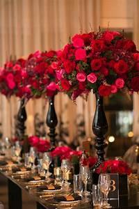 Vivid Red And Glamorous Sydney Wedding