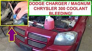 How To Bleed The Cooling System On Dodge Charger  Dodge