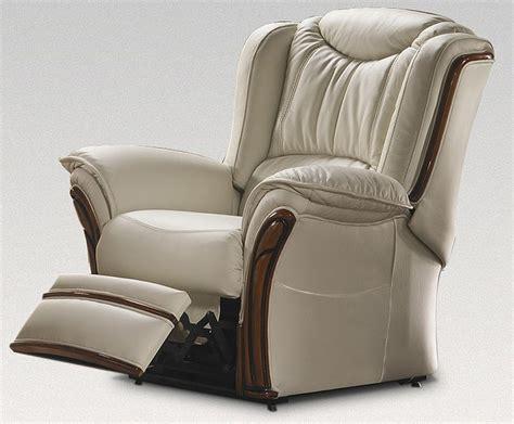 Verona Electric Reclining Armchair Sofa Genuine Italian
