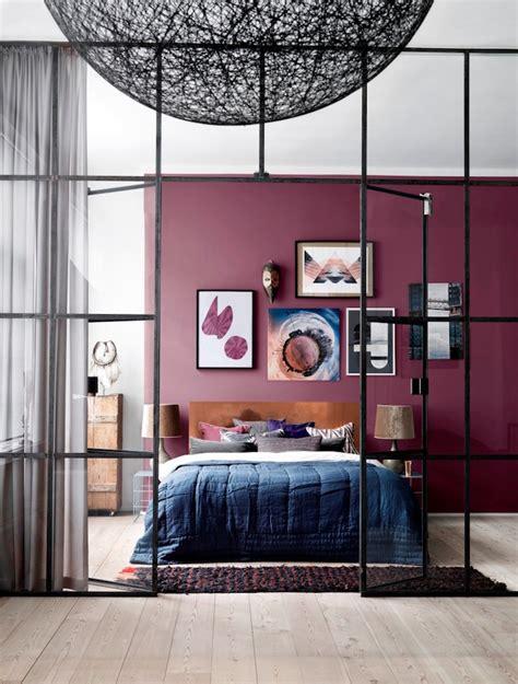 peinture prune chambre la couleur prune en décoration d intérieur les bonnes