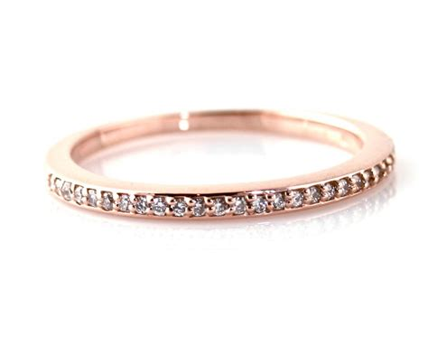 rose gold wedding band women wedding  bridal inspiration