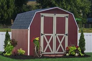 Amish Storage Sheds And Detached Car Garage Designs Are