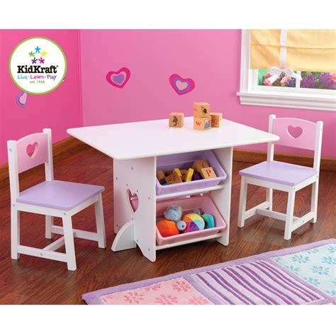 tavoli e sedie bimbi kidkraft 26913 set tavolo e sedia per bambini con