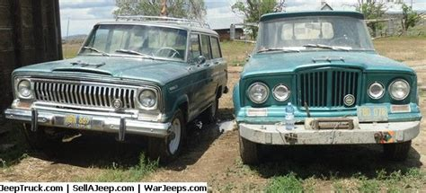 jeep kaiser wagoneer 1965 kaiser jeep gladiator j2000 townside 4x4 and 1967