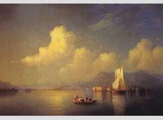 FileAivazovsky,Ivan 1858 ItalianLandscape,Evening NCjpg