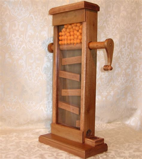 wood gumball machine plans diy   shed barn