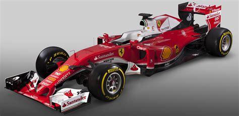 Ferrari's Race Car For The 2016 F1 Season Is The Sf16h